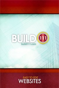 Build111 mobile app welcome screen